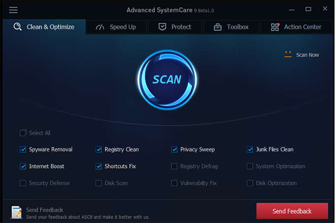 Advanced SystemCare Free 9 9.3.0.1121 İndir
